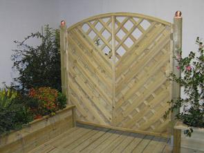 Arredo giardino grigliati fioriere e accessori per il - Pannelli divisori giardino ...