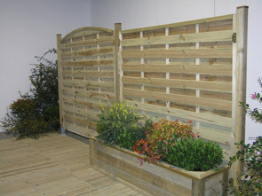Arredo giardino grigliati fioriere e accessori per il for Impregnante per legno esterno prezzi