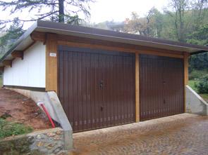 garage in legno per auto piemonte : casette in legno box auto arcover in legno per auto coperture ...
