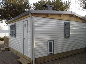 Pareti Di Legno Prezzi : Case mobili brescia case mobili in legno da campeggio o