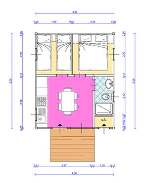 Beautiful case mobili brescia verona case mobili in for Planimetrie della casa senza garage