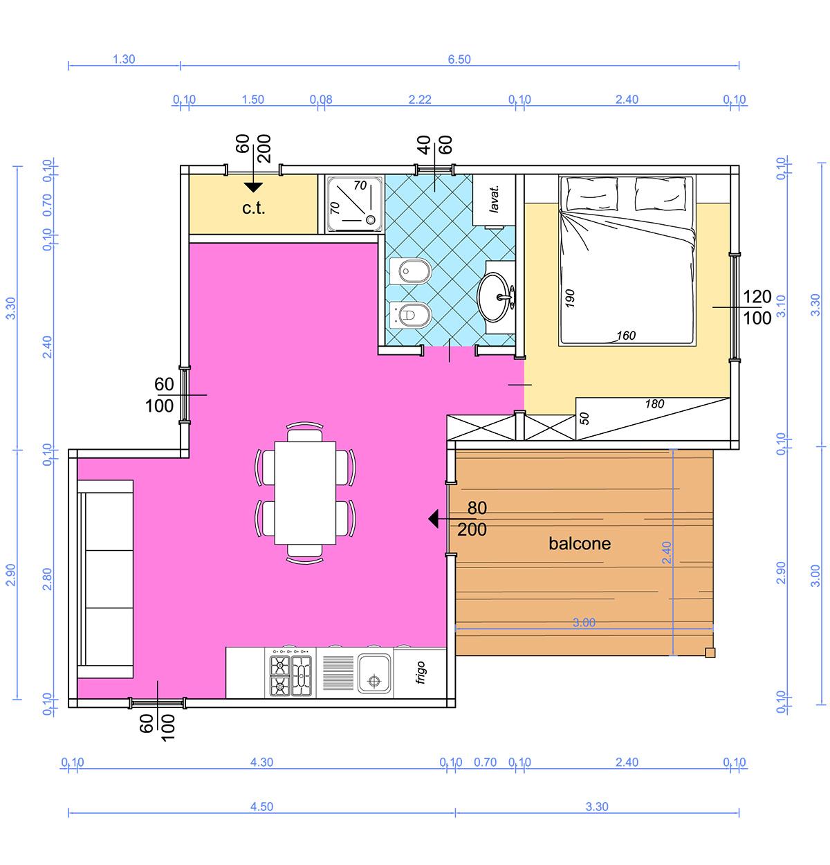 Planimetria n clicca per ingrandire with planimetria casa for Layout di casa piano gratuito