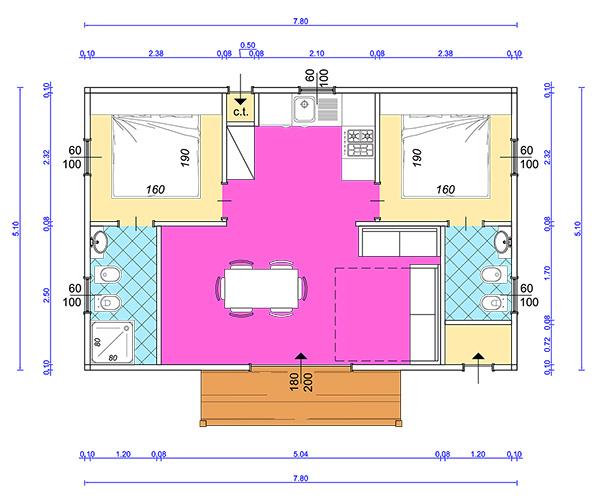 Best case mobili brescia verona case mobili in vendita for Planimetrie della casa di saltbox