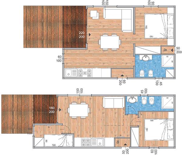 Planimetrie case prefabbricate jk33 regardsdefemmes - Case in legno mobili ...