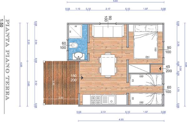Case mobili brescia planimetrie di case mobili in legno - Case in legno mobili ...