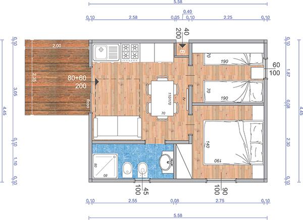 case mobili brescia planimetrie di case mobili in legno
