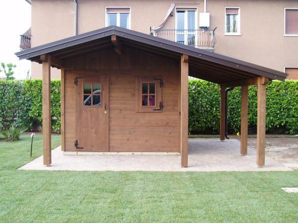Casetta con giardino muggia idee per il design della casa - Casette in legno per giardino ...