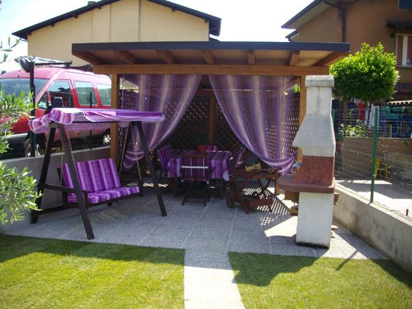 Edil garden casette in legno da giardino bungalow for Arredo giardino brescia