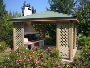 Vendita gazego in legno brescia edil garden brescia for Gazebo da terrazzo