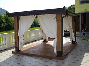 Copertura In Legno Lamellare Prezzi : Coperture in legno prezzi top coperture in legno per terrazzi