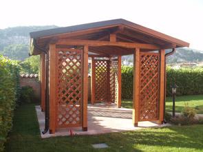 Costo gazebo legno pannelli termoisolanti for Pannelli in legno lamellare prezzi