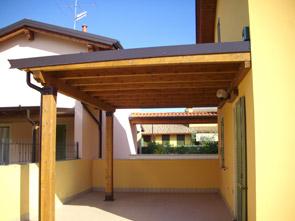 Normativa tettoie in legno