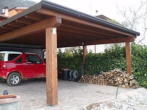 Porticati in legno edil garden brescia bergamo verona for Pannelli in legno lamellare prezzi