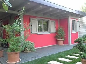Gazebo, chioschi, box auto, casette, porticati, bungalow e altre strutture prefabbricate per ...