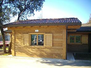 Realizzazione prefabbricati e bungalow edil garden for Case uso ufficio