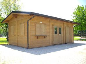 Realizzazione prefabbricati e bungalow edil garden for Prefabbricati di legno