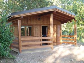 Realizzazione prefabbricati e bungalow edil garden for Prefabbricati in legno